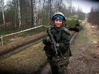Russische Aufklärerin