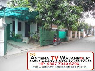 jual  ANTENA TV Bagus WAJANBOLIC Perumahan TNI AU CURUG INDAH CIPINANG MELAYU JAKARTA TIMUR