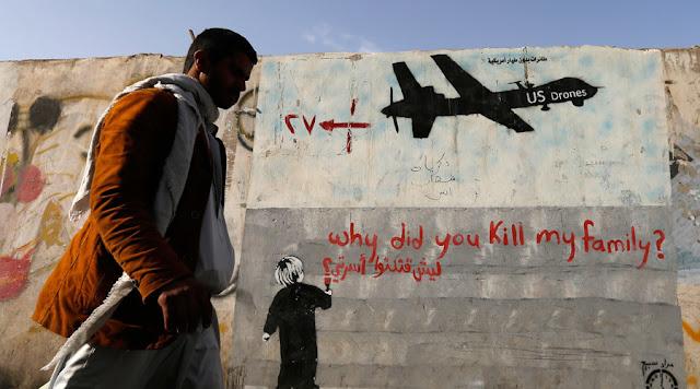 Drones americanos mataram até 116 civis acidentalmente - MichellHilton.com