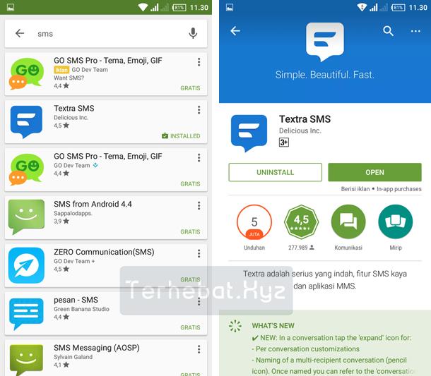 Aplikasi SMS Android Dual Sim Terbaru Paling Keren