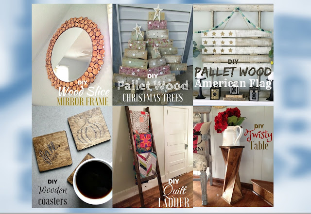 DIY Wooden Crafts For Your Home Decor