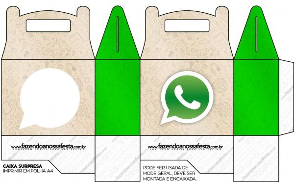 Caja Lunch, de WhatsApp para imprimir gratis.