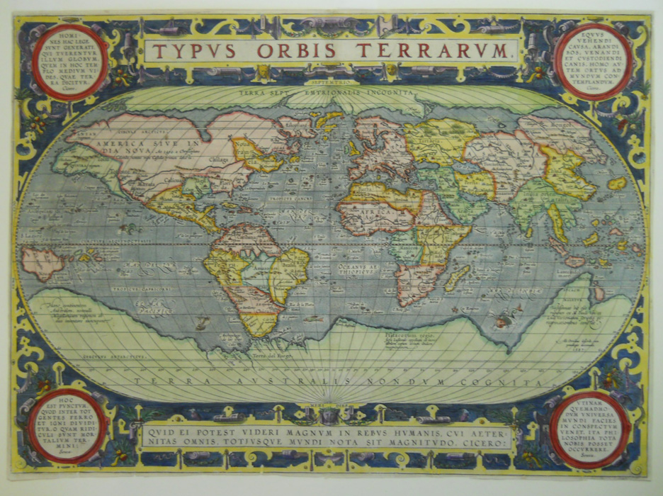 Terra Earth Map.Antique Prints Blog Terra Australis Incognita