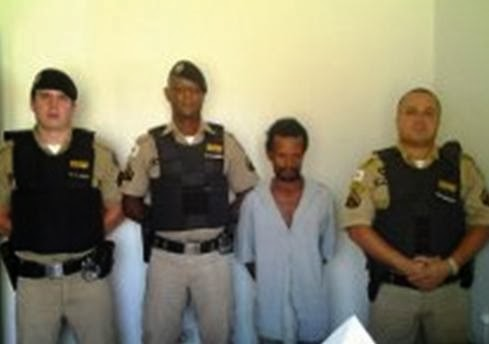 0fc6b4e526d OURO VERDE DE MINAS – Na última quarta-feira (23), a Polícia Militar  realizou a prisão de Antônio Borges de Souza acusado de ameaçar a esposa e  portar ...