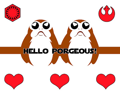 Hello PORG-eous Pop-up Porgs