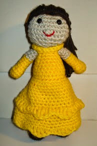 http://www.ravelry.com/patterns/library/bella-amigurumi---disney-princess