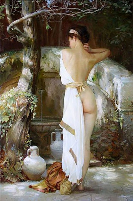 Figurative painting by Serge Marshennikov