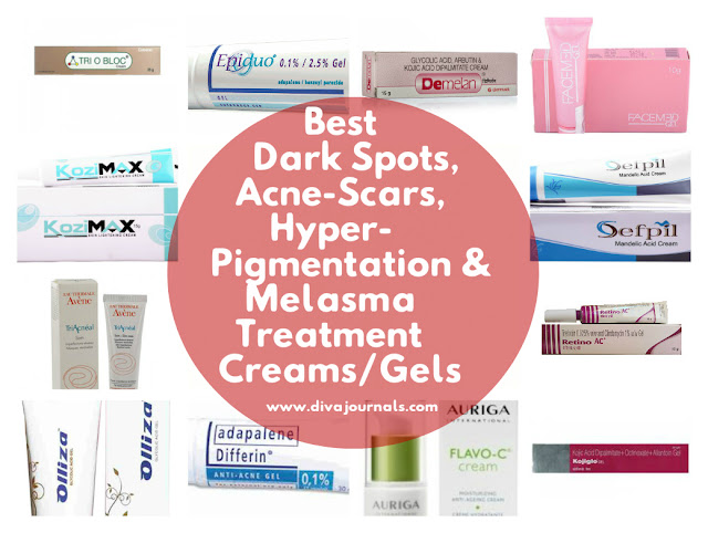 Best Acne Scars & Hyper-pigmentation Treatment Creams/Gels