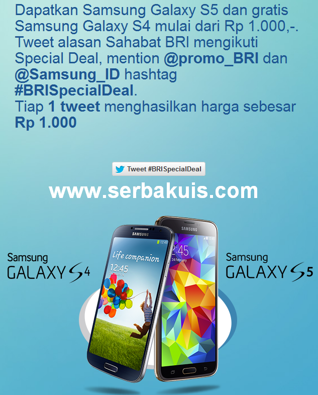 Lelang Samsung Galaxy S5 Gratis Samsung Galaxy S4