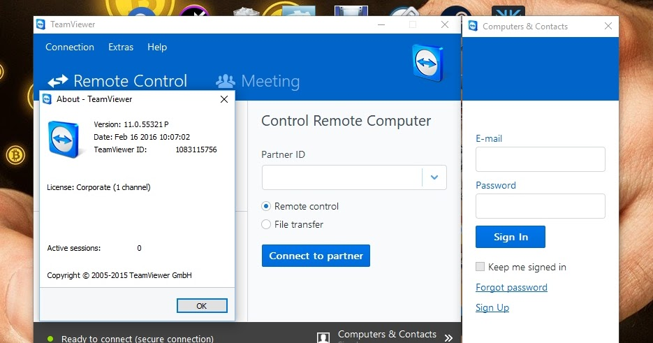 TeamViewer Corporate 11 0 55 Portable | Remote Control - sourcefile NET