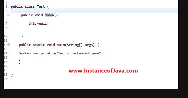Top 100 Java practice programs with solutions - InstanceOfJava