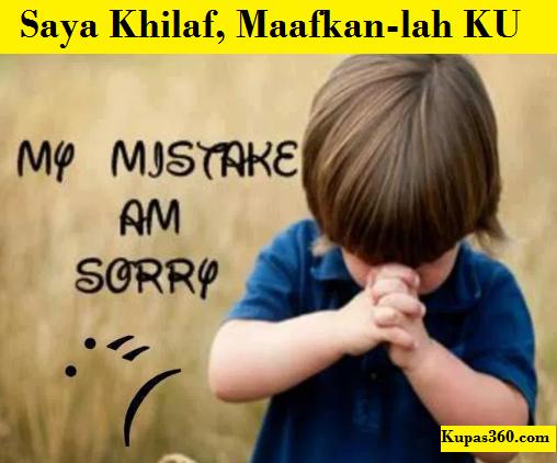 orang meminta maaf