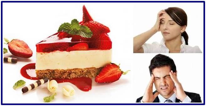 Por qué las personas sienten dolor de cabeza al comer postres y dulces