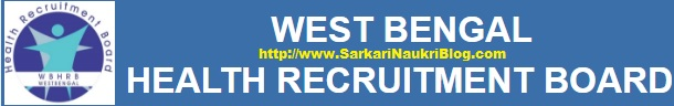 Naukri Vacancy Recruitment WBHRB