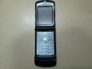 Hape Rusak Motorola V3i Buat Kanibalan Sparepart & Aksesoris