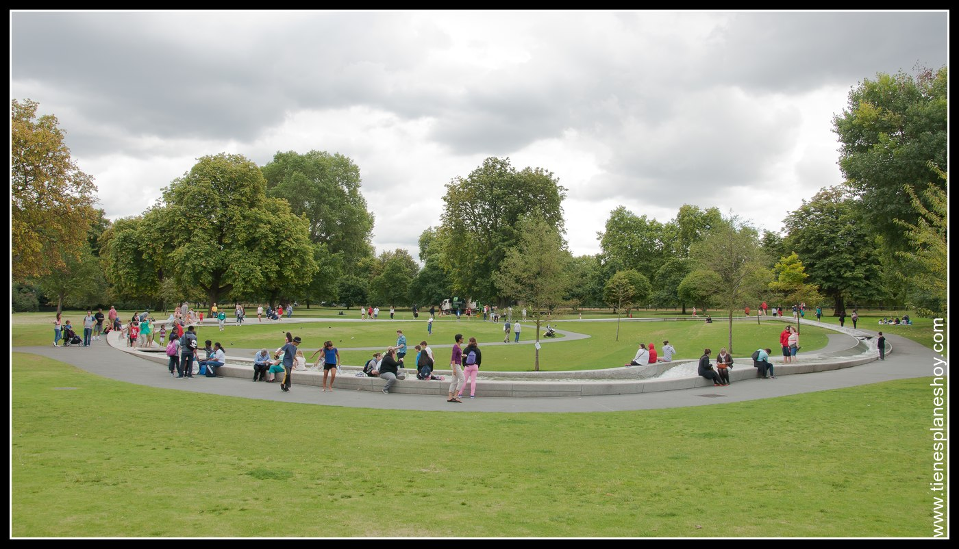 Memorial a Diana de Gales Hyde Park Londres (London) Inglaterra