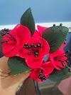 Naylon Çoraptan Çiçek Yapımı
