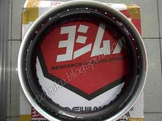 Velg Yoshimura Ring 17 Silver dan Ring 14 Hitam
