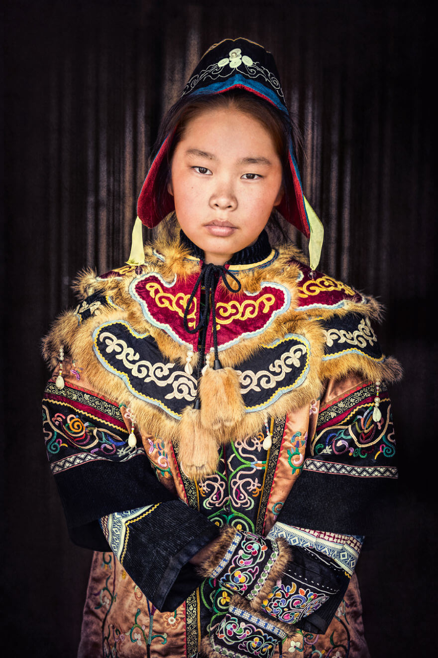 He Traveled 25000 Km In Siberia To Capture The Beauty Of Its Indigenous People With His Camera. The Pictures Are Breathtaking! - Nanai Girl