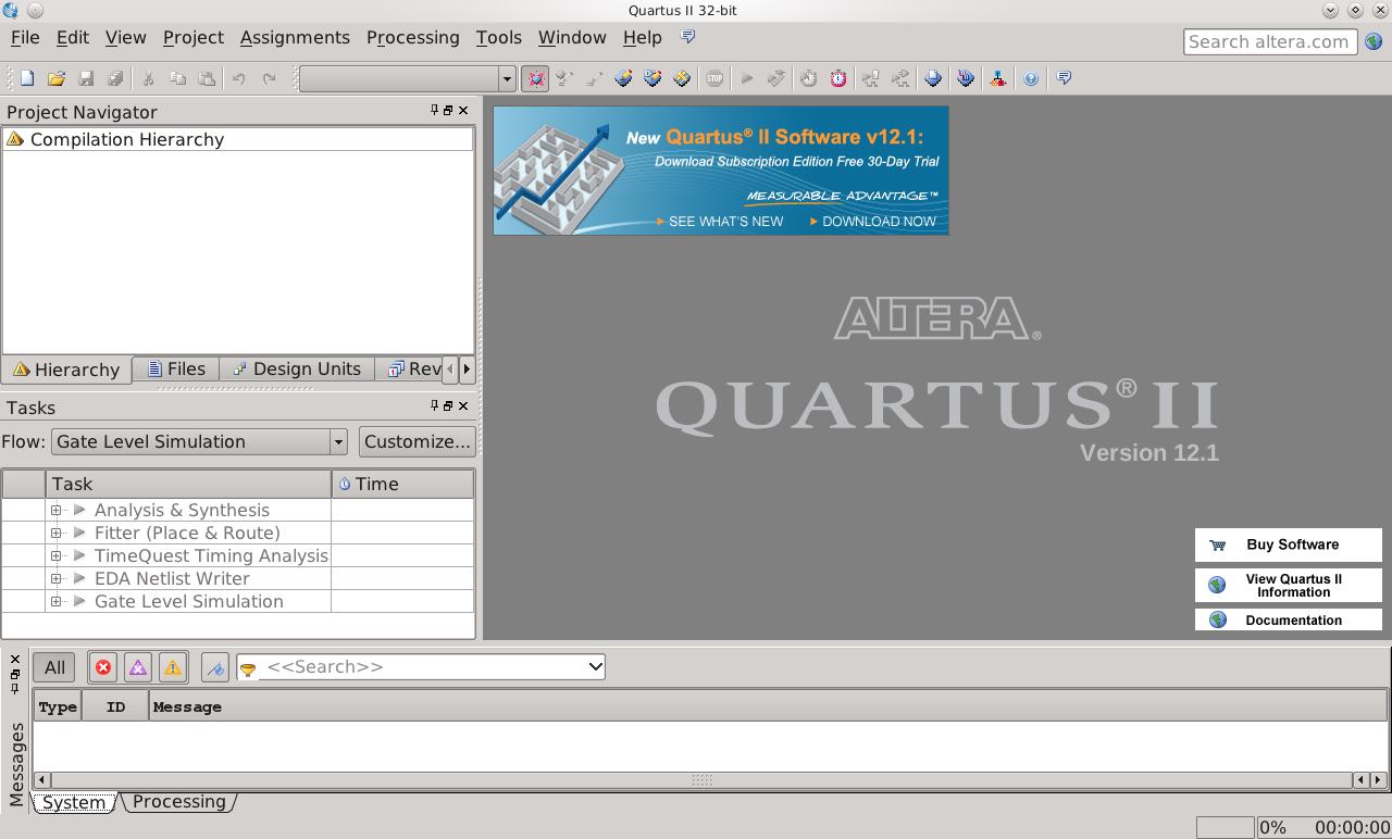 binary codec: Instalação do Altera Quartus II v 12 1 sp1 e ModelSim
