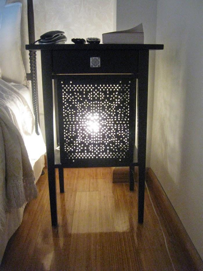 Variera panels on a Hemnes nightstand - IKEA Hackers ...