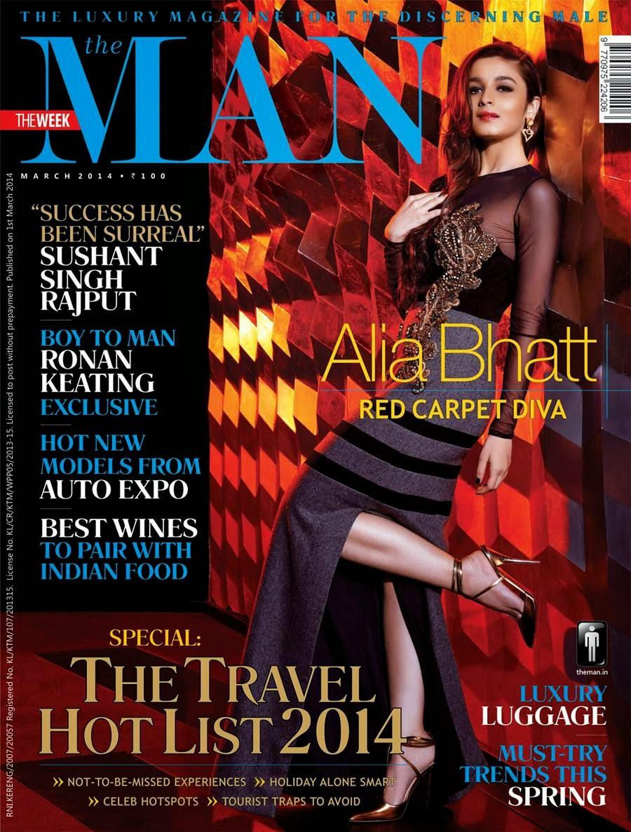, Alia Bhatt Man Magazine Scans