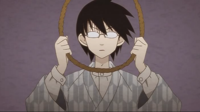 Animes depicting Depression-depressive animes