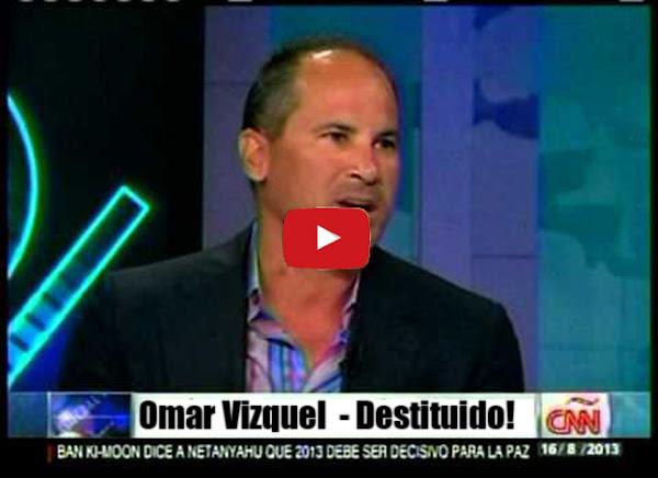 Omar Vizquel destituido por órdenes del régimen