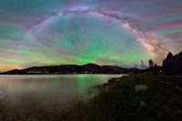 Airglow over Bryce Canyon National Park