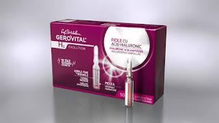 Cosmetice Gerovital H3 evolution fiole acid hialuronic