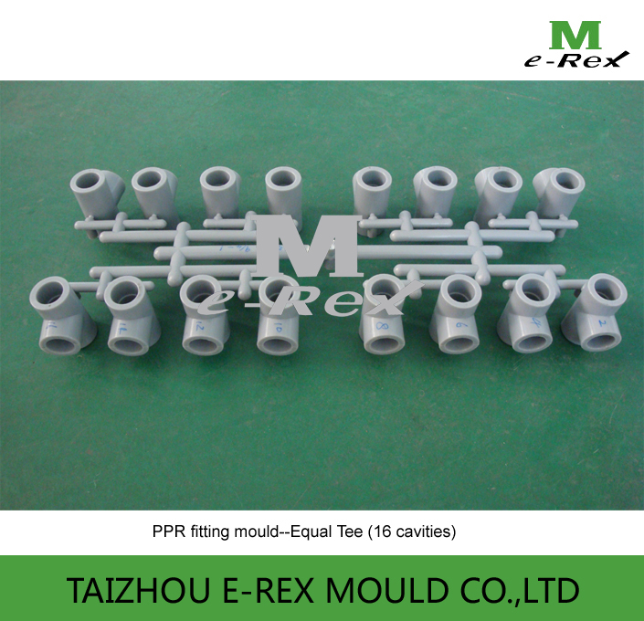 Plastic mold supplier: PPR pipe fitting mould 2