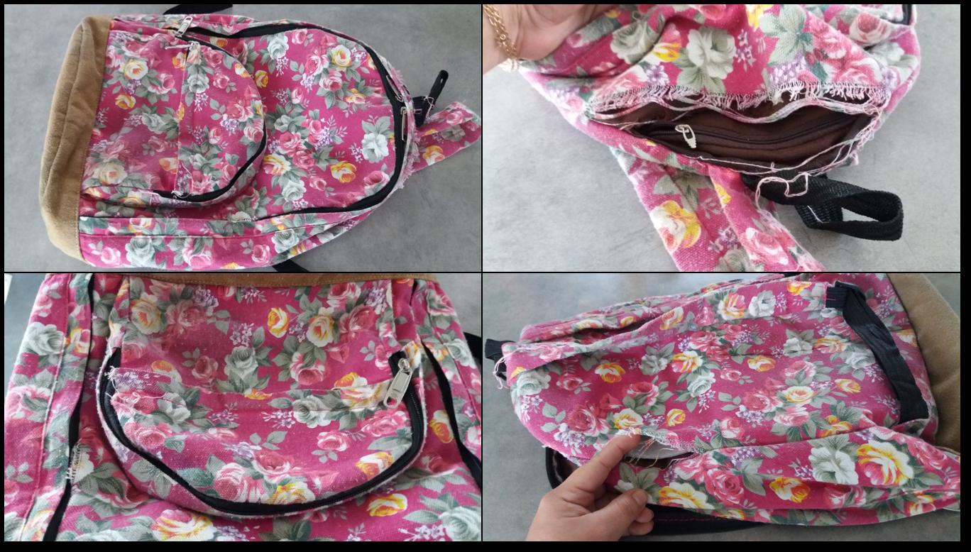 Yuyi 39 s creations c mo hacer una mochila con bolsillos y for Como colocar una mochila de inodoro