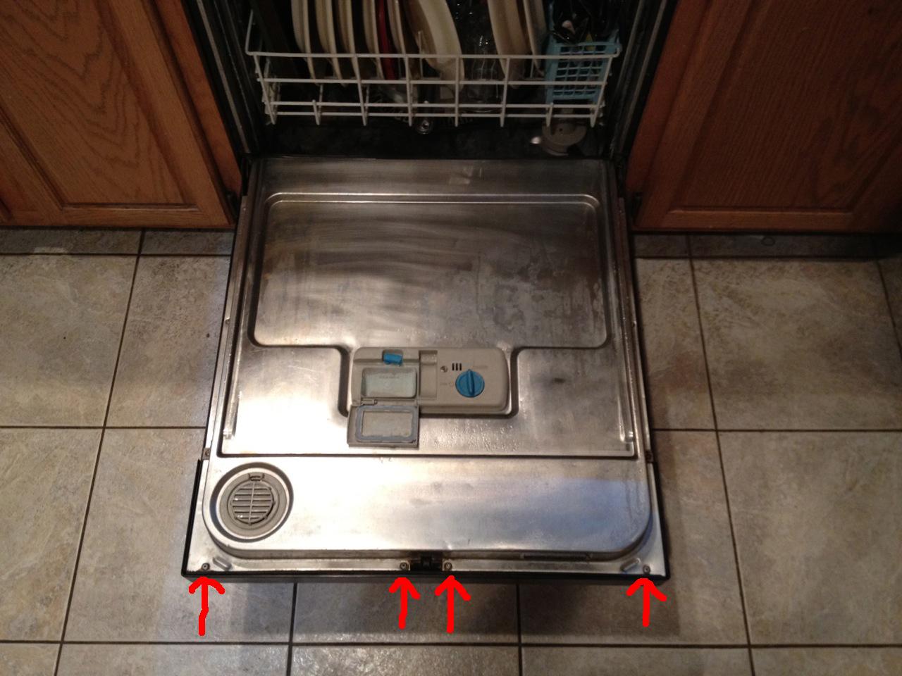 Kitchen Aid Dishwasher Repair Cutlery Door Will Not Open How To Fix Broken