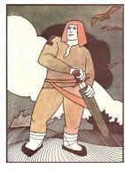 kurbads, drawing, latvian folklore, latvian mythology, latviešu folklora, latviešu mitoloģija, capital r, 2018