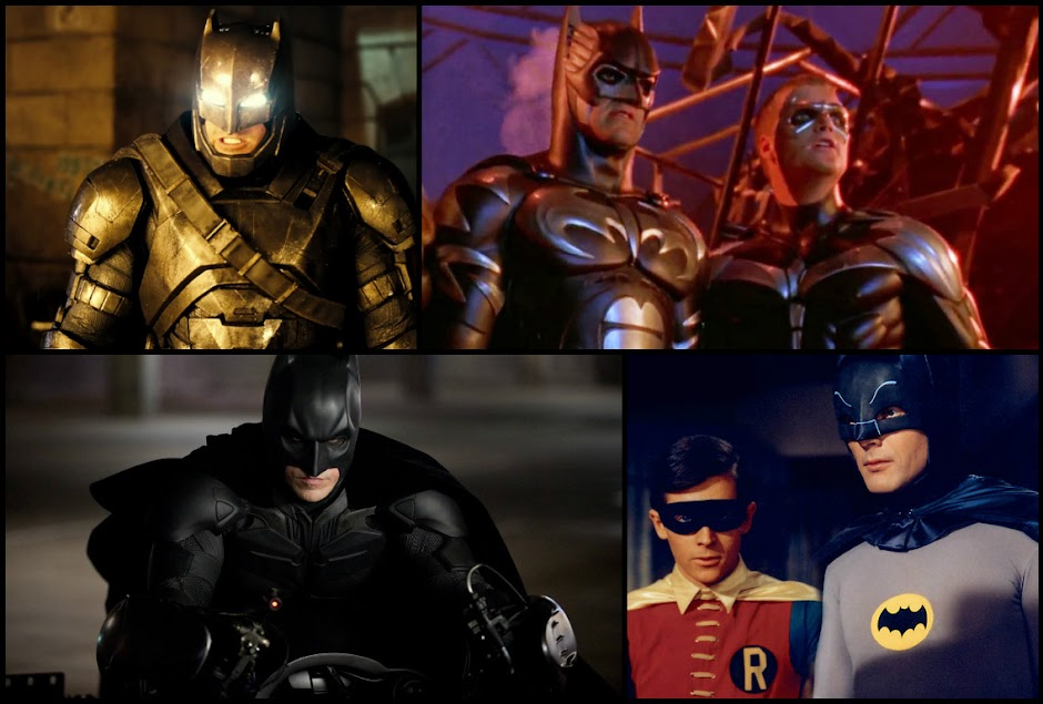 Lista Interativa #2 – Batman no Cinema: Da Pior a Melhor Adaptação Live-Action