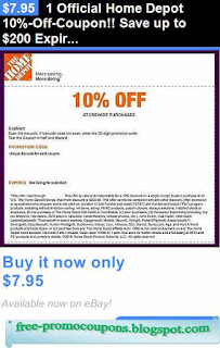 Printable Coupons 2020 Home Depot Coupons