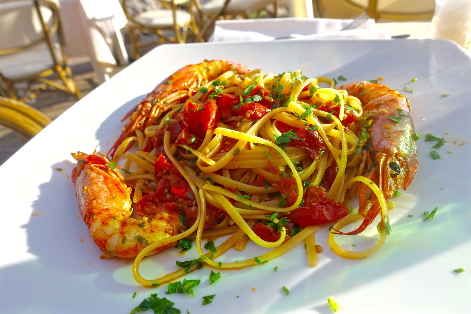 seafood dishes in capri italy