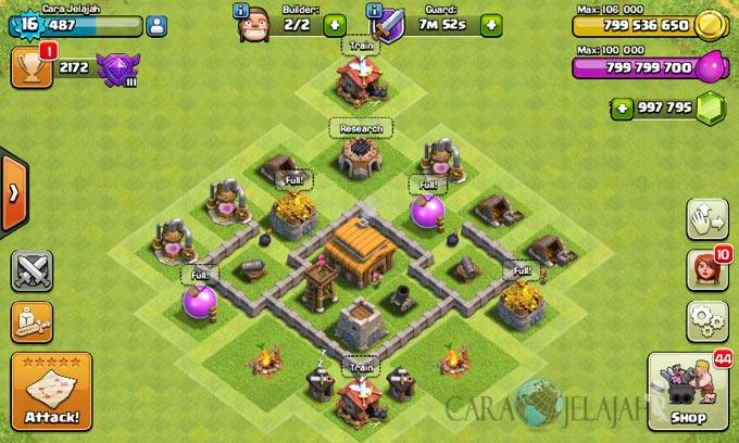 Desain Base Town Hall 3 Terbaik Dan Terbaru Clash Of Clans 19