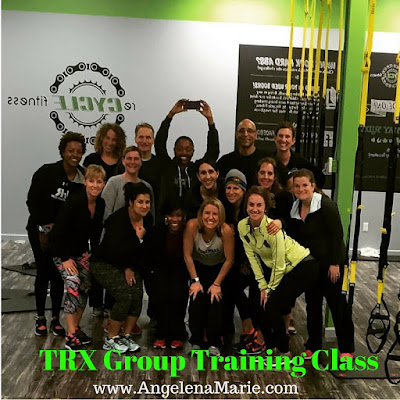TRX Training Day + Booty Burning Workout + Premier Protein Banana Nut Bread Smoothie