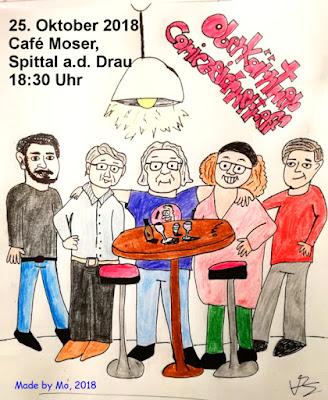Österreichischer Comiczeichner Stammtisch in Kärnten, Spittal a.d. Drau