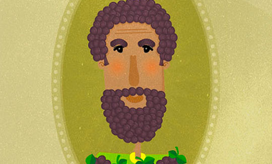 Ilustración, Fruits beards de Lia Martinez Saab aka Marti Sa