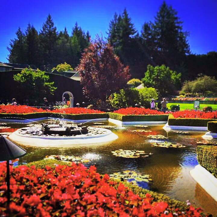 Victoria, British Columbia Buchart Gardens and Beacon Hill Park