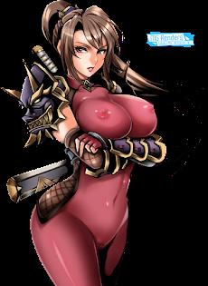 Soulcalibur - Taki Render 1