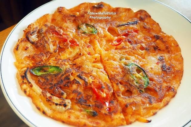 Kimchi Pancake Kimchijeon