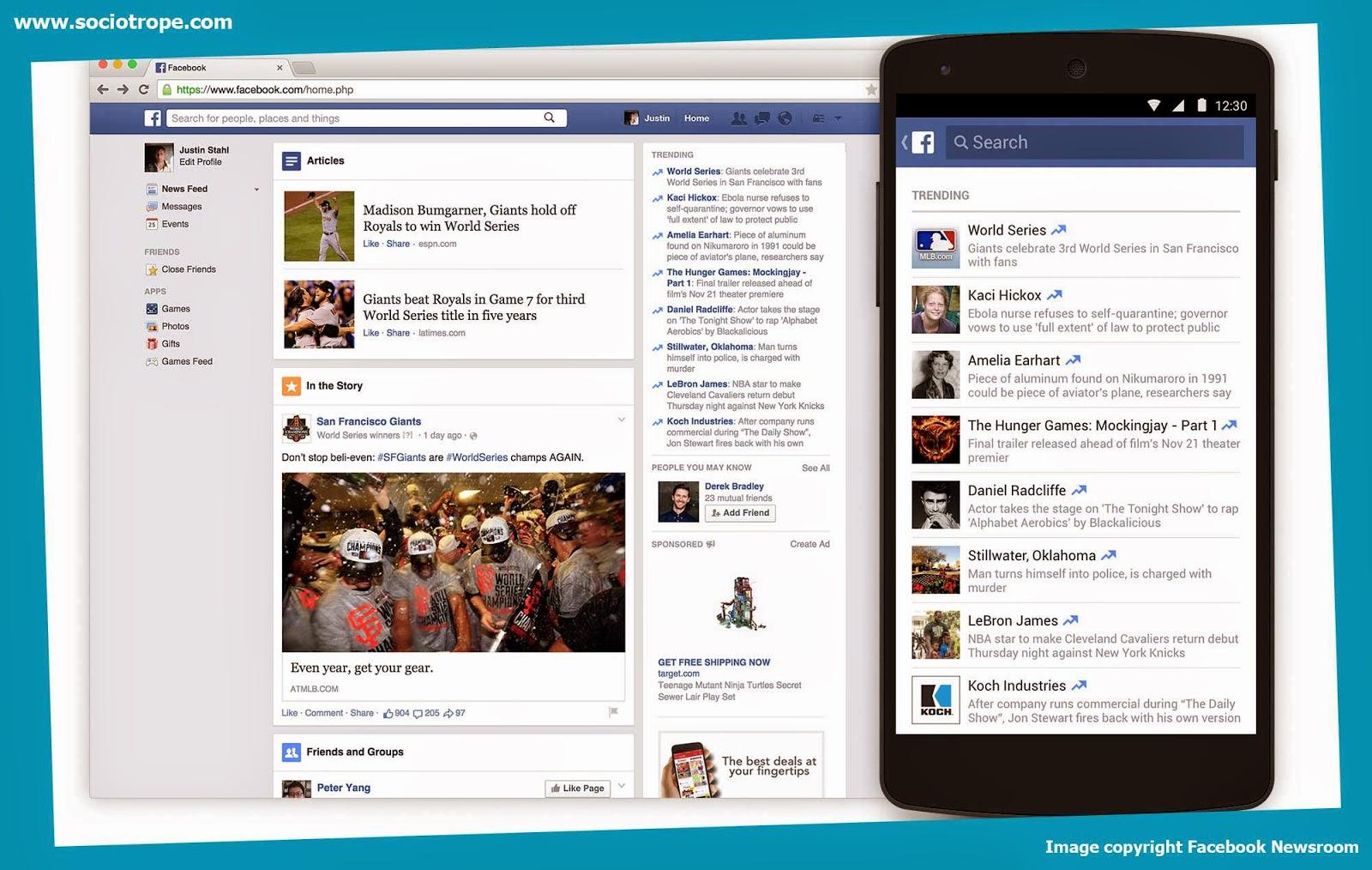 Facebook Trending SocioTrope Unofficial Facebook Blog - Facebook video template