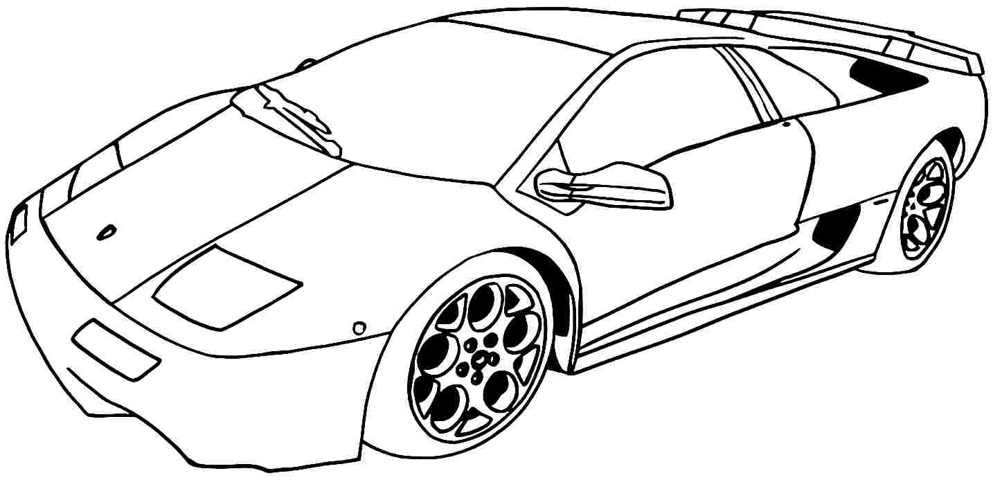 Cars coloring sheets - Coloring Pages For Kids Sport Cars Coloring Pages Coloring Ideas