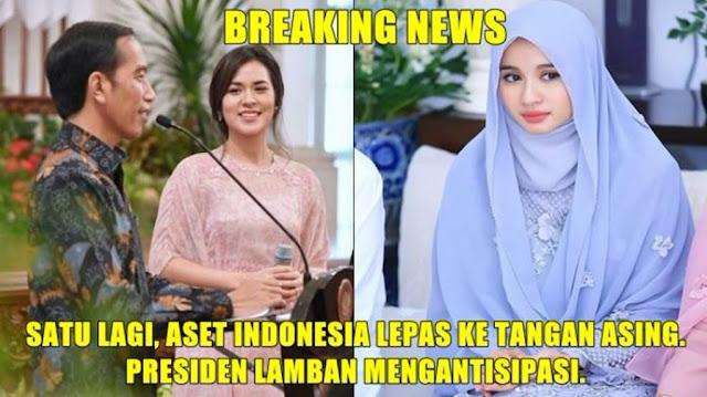 Tanggapan Jokowi Mengenai Raisa dan Laudya Chintya Bella yang Disebut Aset Indonesia Lepas ke Tangan Asing