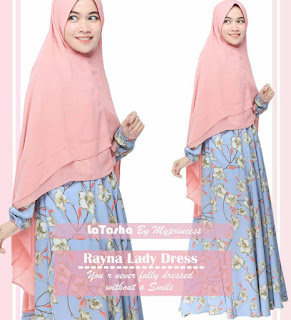 Gamis Latasha Rayna Lady Dress
