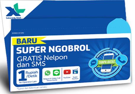 XL Super Ngobrol Baru
