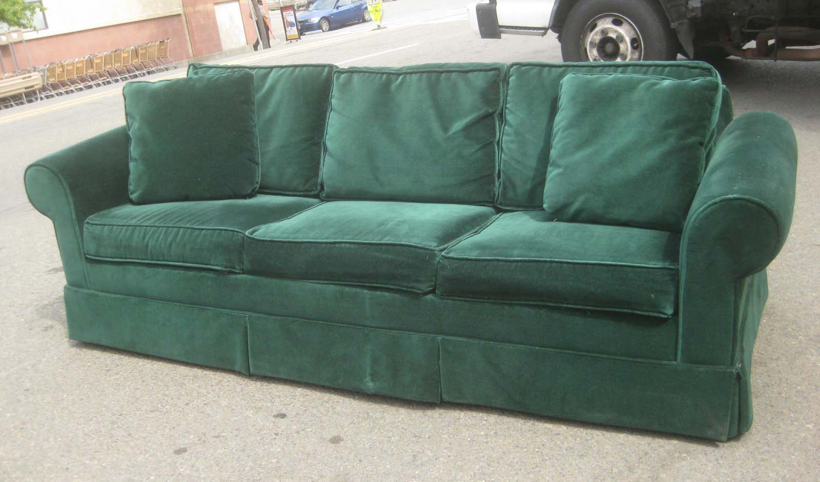 Uhuru Furniture Amp Collectibles Sold Kelly Green Sofabed